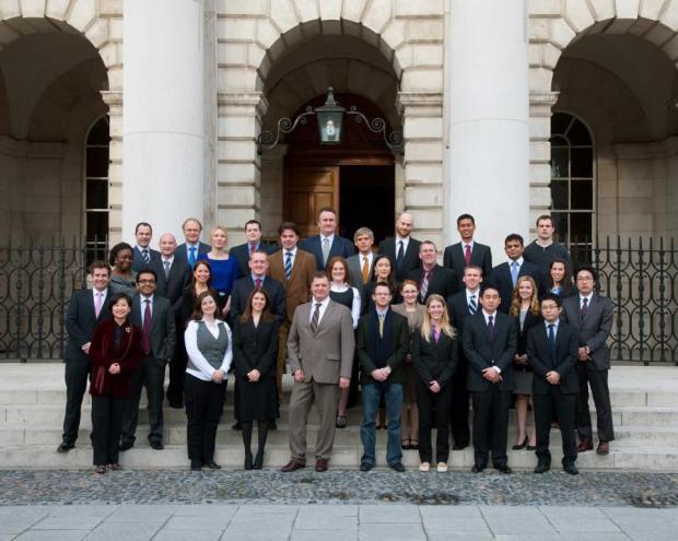 Awkward MBA family photo