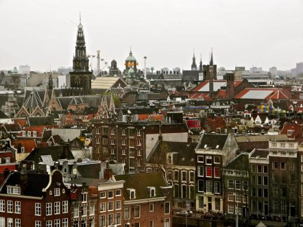 Amsterdam's rooftops